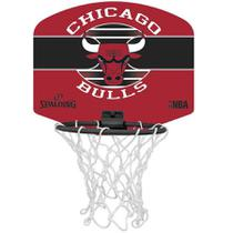 Micro Mini Tabela de Basquete Spalding NBA Chicago Bulls -