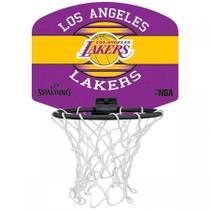 Micro Mini Tabela de Basquete Spalding NBA Los Angeles Lakers -
