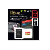 Micro Sd Sandisk Sdxc Extreme A2 U3 160mb/s 256gb -