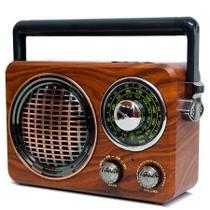 Micro System Amplificado Vintage Antigo Retro Fm Am Usb mp3 Caixa Som Forte 80w Pmpo Favix - WLXY