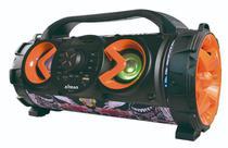 Micro System Caixa De Som Amplificada XDG-38 Bluetooth USB Cartão SD Rádio FM 100w RMS - Xtrad
