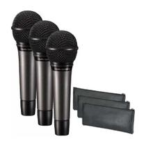 Microfone Audio-technica Atm510pk (pack Com 03 Mics) Vocal -
