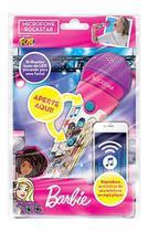 Microfone - Barbie Rockstar Com Funcao Mp3 Barao -