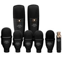 Microfone c/ Fio Dinâmico p/ Instrumentos (8 Unidades) - DRK F 5 H 3 Superlux -