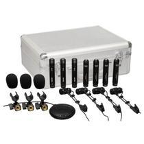 Microfone c/ Fio p/ Instrumentos (8 Unidades) DRK 681 - Superlux -