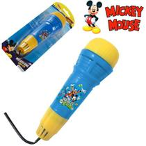 Microfone Com Eco Etitoys do Mickey - Etilux