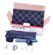 Microfone Com Fio Condensador Superlux Pro268b P/ Instrumentos -