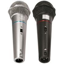 Microfone com Fio de Mão VOXTRON By CSR VOX CSR 505 Dinâmico 600 OHMS c/ cabo 3MTS (PAR) -