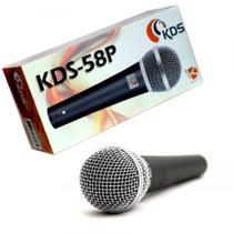 Microfone com fio Kadosh KDS 58P -