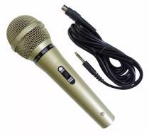 Microfone Com Fio Modelo Mud-515 Metal Micn0001 Storm -