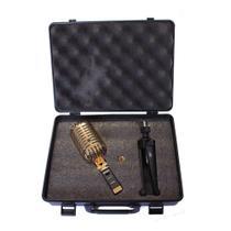 Microfone com fio para estudio com tripé de mesa - pro h7 e - superlux -
