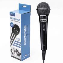 Microfone Com Fio Para Karaokê, Palestras, Gravações Knup Kp-m0011 -