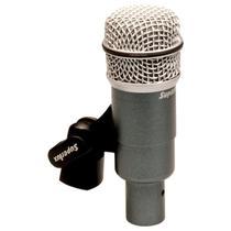 Microfone Com Fio Superlux Pro228a P/ Tons Dinamico Super Cardiode -