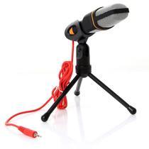 Microfone Condensador com Tripe MTG 020 Tomate -