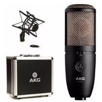 Microfone Condensador Perception Akg P420 Estudio E Ambiente -
