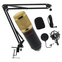 Microfone Condensador Pop Filter Aranha com Braço Articulado - Nagano