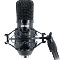 Microfone Condensador Xlr Vokal Sv80x Gravação Streaming e Podcast -