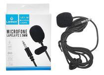 Microfone De Lapela Entrada P2 3.5mm Lehmox- Ley-58 -