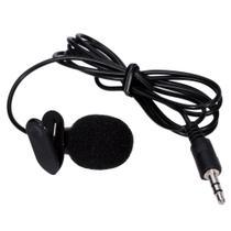 Microfone De Lapela P/ Computador Notebook Câmera Gravador - Exbom