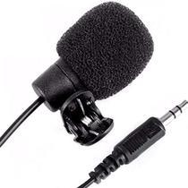 Microfone De Lapela Para Celular Tablet Camera Tomate Mp-018 -