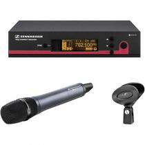 Microfone de Mão Profissional Sem Fio Sennheiser EW135G3-A Banda A (516-558MHz) -