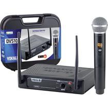 Microfone de Mão Sem Fio - DVS100SM - VOKAL -