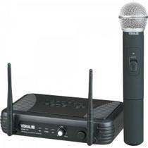 Microfone de Mão UHF VWR15M Preto VOKAL -
