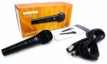 Microfone Dinamico Shure Original Com Cabo Sv-200 -
