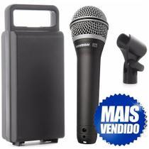 Microfone Dinâmico Super Cardióide Xlr Q7 Samson -