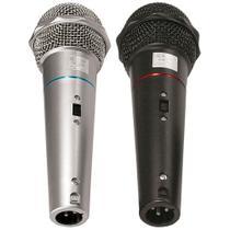 Microfone Duplo com Fio CSR-505 -