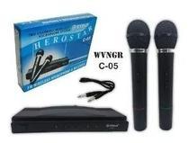 Microfone Duplo Wireless - Wvngr