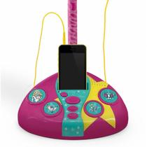 Microfone Fabuloso Barbie Com Função Mp3 Player - Fun F00044 -