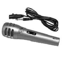 Microfone HBD Karaokê Prata Modelo - UT-MP5127 - Hdb