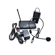 Microfone Headset Sem Fio Jwl / 8017-H Com Maleta -
