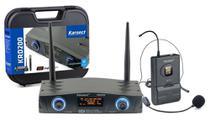 Microfone Headset sem Fio Karsect KRD200SH UHF -