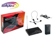 Microfone Headset Wireless Soundpro SP200HS  (s/ fio) -