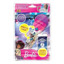 Microfone Infantil Barbie Rockstar Com Função MP3 Player e Led  Fun
