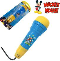 Microfone infantil com eco divertido - mickey - Etitoys