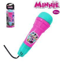 Microfone infantil com eco divertido - minnie - Etitoys