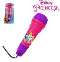Microfone infantil com eco divertido - princesas - ETITOYS