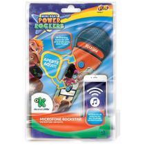 Microfone Infantil - Power Rockers Rockstar - Fun Toys -