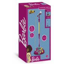 Microfone Karaoke Fabuloso Da Barbie F00044 - Fun -