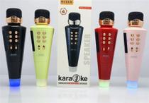 Microfone Karaokê Sem Fio Bluetooth Speaker USB WS-2711 - Wster