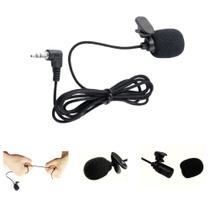 Microfone Lapela Com Cabo Reforçado - PlugX 1008 -