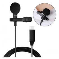 Microfone Lapela para Celular e Tablet Tipo C xTrad - CH0454 -