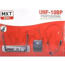 Microfone Lapela Sem Fio Headset Uhf-10bp Profissional - Mxt