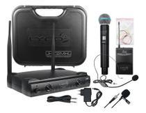 Microfone Lyco Uh02mhli Sem Fio Headset E Mão Duplo Uhf Nfe -