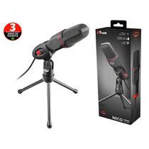 Microfone Para Pc e Notebook  Microfone 23791 Gxt-212  Mico Streamer Para Transmissao Em Fluxo Usb - Trust