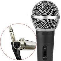 Microfone Profissional Com Fio 3m High SM-58 -