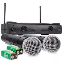 Microfone Profissional Digital Sem Fio Até 40mts Para Igreja - Briwax